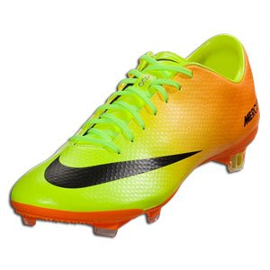 Nike Mercurial Vapor Ix Fg Mens Football Soccer Boots Cleats Volt Black Bright Citrus Firm Ground
