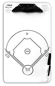 KBA Baseball Coaches Clipboard Playmaker & Case