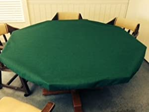 Poker table cover round
