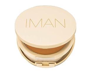 Iman Cosmetics Perfect Response Oil-Blotting Pressed Powder, Light/Medium