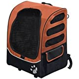 Pet Gear I-Go2 Plus Traveler Rolling Backpack Carrier for Cats And Dogs up To 25-Pound, Copper