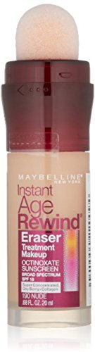 Maybelline New York Instant Age Rewind Eraser Treatment Makeup, Nude Light [190 0.68 oz (Pack of 11)