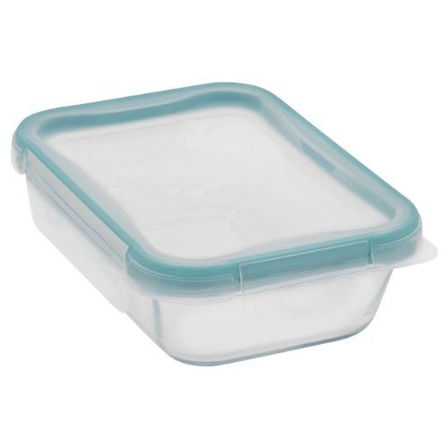 Snapware 2-Cup Total Solution Rectangle Food Storage Container, Glass (Glasses Ware compare prices)