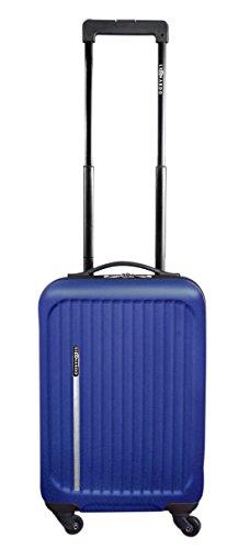 31L Reisetrolley Handgepäck Hartschalen Boardcase 32,5x21x54,5cm verschiedene Farben (Blau)