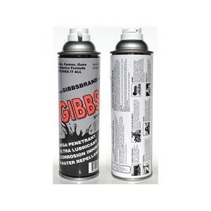 Gibbs Brand Lubricant (12-12oz cans, one case)