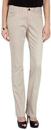 Morgan - pantalon - droit - femme - beige - w36/l32