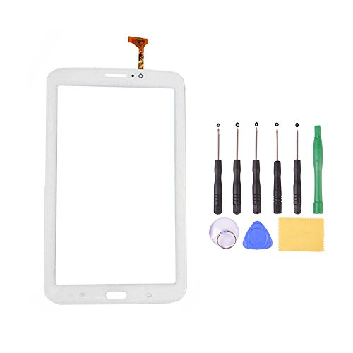 LSHtech Touch Screen Glass Digitizer for Samsung Galaxy tab 3 7.0 inch Tablet SM-T210 (WiFi version) (white)