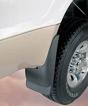 Husky Liners HUS-57281: Mud Flaps, Custom Molded, Rear, Thermoplastic, Black, Chevy, Trailblazer, Pair (Mud Flap For 2004 Chevy Truck compare prices)