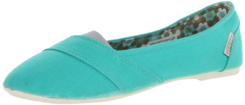 Keen Cortona Ballet Slip-On (Toddler/Little Kid/Big Kid),Pool Green Flower Pattern,9 M Us Toddler front-39124