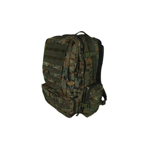 Digital Woodland Camouflage Advanced 3-Day Combat Pack - 22 x 16 x 12 MOLLE  Compatible Backpack Bag 03669e7494b50