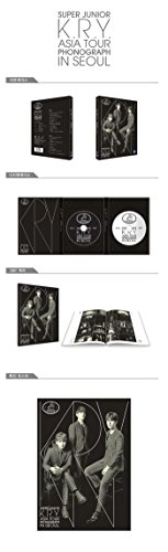 Super Junior - K.R.Y - Asia Tour Phonograph in Seoul (2DVD + フォトブック) Super Junior - K.R.Y SM Entertainment