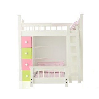 American Girl Loft Bed 2523 front