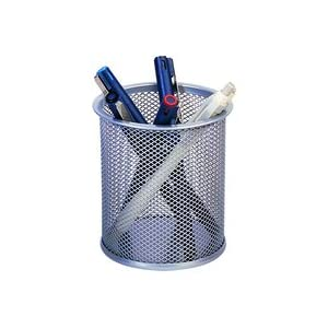 Q-CONNECT MESH PEN POT SLV KF00846
