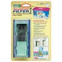 Small World® Aquarium Filter & Holder for Small Tanks