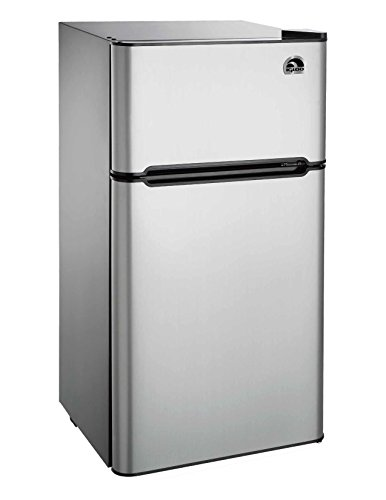 Igloo FR459 2 Door Refrigerator/Freezer, Platinum, 4.5 cu. ft. (2 Door Mini Fridge With Freezer compare prices)