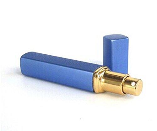 2 pièce flacon de parfum vide pour voyager/10 ml, bleu