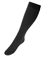 Cosy Fleece Lined Freshfeet™ Thermal Knee High Socks with Silver Technology
