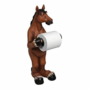Rivers Edge Products Standing Horse Toilet Paper Holder. Precio: $38.06