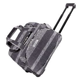 highbury-mallorca-rueda-a-bordo-carry-on-maletin-con-ruedas-equipaje-de-mano-para-ryanair-gris-rayas