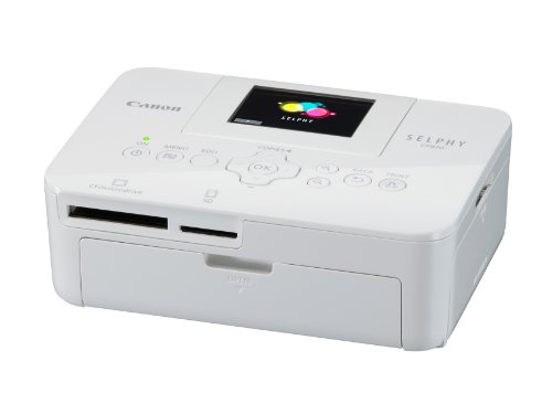 Canon Selphy CP820 Compact Photo Printer - White Black Friday & Cyber Monday 2014