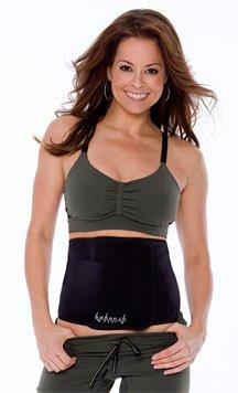 Baboosh Body Unisex Sports Wrap By Brooke Burke (Small/Black)