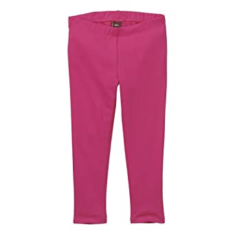 Tea Collection Daily Tea Solid Leggings in Raspberry, 4T