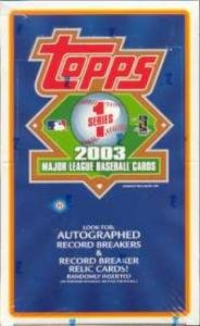 2003 Topps Series 1 Baseball Cards Unopened Hobby Box