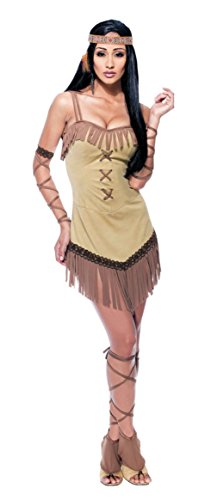 Papermagic Womens Native Maiden Indian Wild West Theme Party Fancy Costume