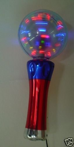 Toyland Flashing Magical Spinning Ball-Batteries Inc-C58