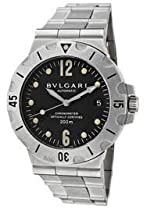 Bvlgari Mens SD38SSAUTO DIAGNO CHRONOMETER DIVER