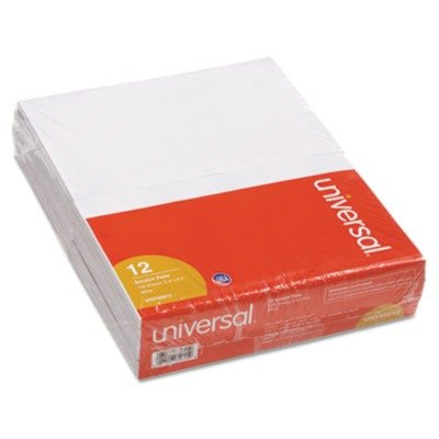 """Scratch Pads, 12 100-Sheet Pads/Pack,  5"""" x 8"""""""