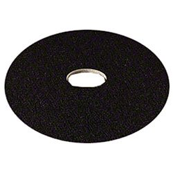 Zoom Supply 3M 7300 High Pro Black Floor Pads, Industrial-Grade 17\