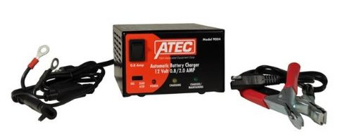 Associated Equipment 9004 ATEC 12V 0.8-2 Amp Flooded or Gel Automatic Charger/Maintainer