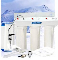Undersink Water Filter Triple - Undersink W14 ULTIMATE