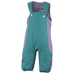 Columbia Edie Princess Infant Girls Snow Jacket and Bib Snowsuit Teal/Purple, 12 months