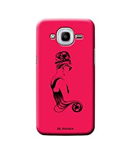 Be Awara Beauty Back Cover Case for Samsung Galaxy J2 2015 Edition
