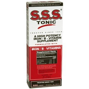 S.S.S. B-Complex Vitamin Tonic Liquid - 10 Oz (Pack Of 5)