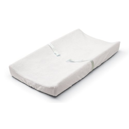 Summer Infant Ultra Plush Change Pad Cover - White, 2-Pack - 1
