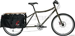 """Surly Big Dummy Complete Bike, 22"""", Military Green"""