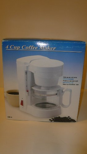 4 Cup Coffee Maker Cm-4