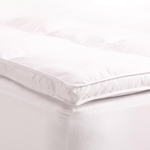 All Season Down Alternative Queen Mattress Topper, White