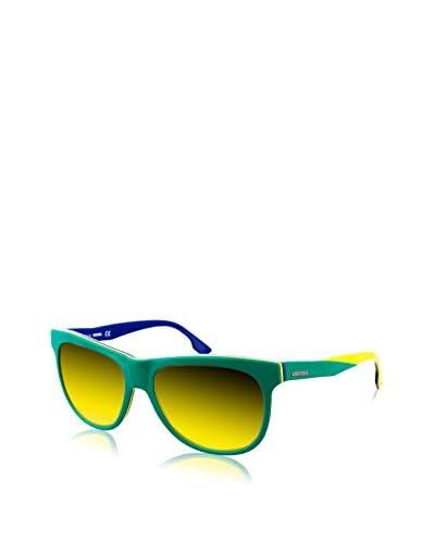 Diesel Gafas de Sol DL0112-95G (56 mm) Verde / Amarillo