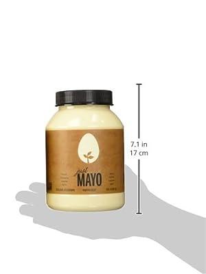 Hampton Creek, Just Mayo, Original, Gluten Free, Soy Free, Egg Free, 30oz Jar, Pack of 2 by Hampton Creek