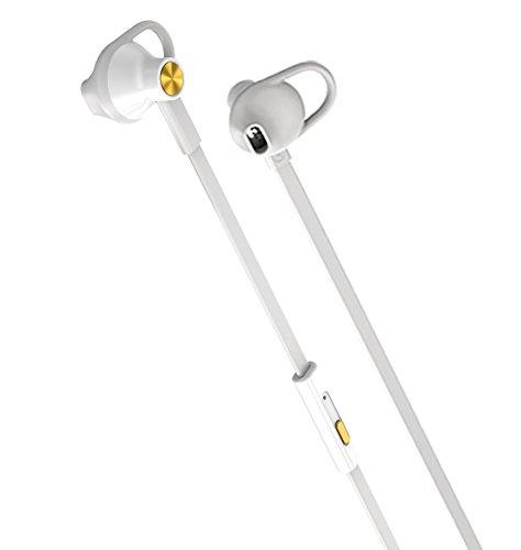 New Original Rim Blackberry Premium Stereo Headset Headphones 3.5Mm Gold White