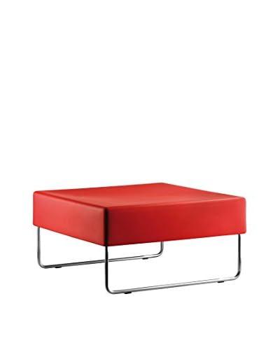 Pedrali Set Poggiapiedi 2 pezzi Host Lounge 792 Rosso