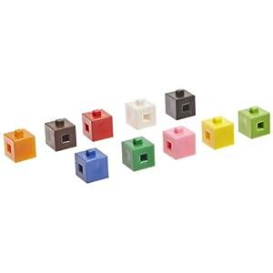 Amazon.com: School Specialty Interlocking Centimeter Cubes - 1000