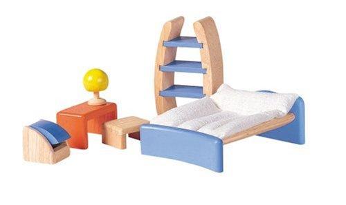 PlanToys Dollhouse Children's Room Décor
