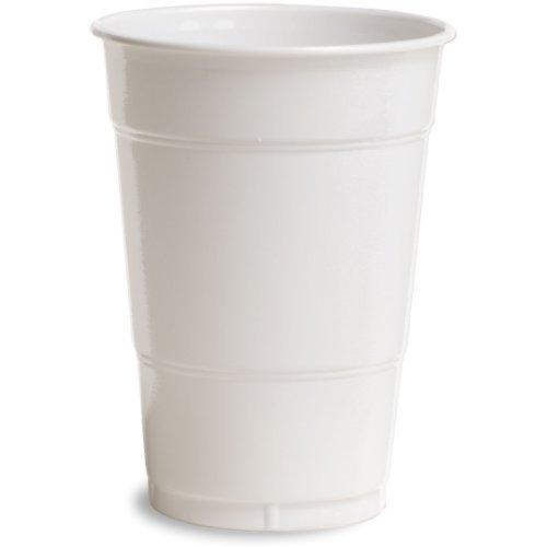 Creative Converting White 16 oz Plastic Cups - 20 ct