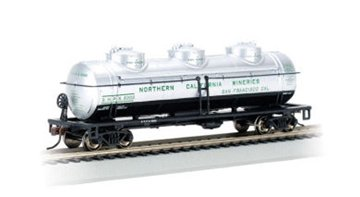 Bachmann Trains Northern California Wineries 40' Three-Dome Tank Car