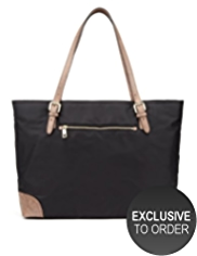 Autograph Double Handle Large Tote Bag